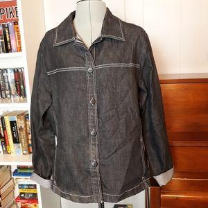 Pendelton dark denim jacket